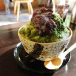 平安神宮参拝後にオススメのカフェ 【Cafe ヒペリカム】で抹茶かき氷