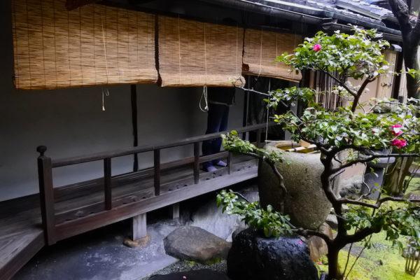 京町屋キャンパスの坪庭